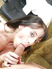 Bibette Blanche Fuck My Skull with young step son blowjob