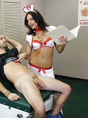 Fleshlight Fantasy With Cherry Poppins as she jerks and tugs a big cock