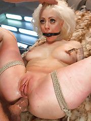 Hard Bondage and Brutal Sex for LoreLei Lee as Barbarella.