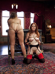 The butler did it, House slave Penny Pax fucked in the ass, newbie porn star Jenna Ashley abused and used, kinky threesome sex