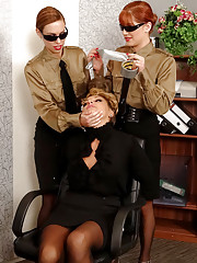 Secretaries pleasing boss