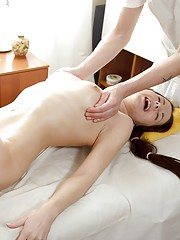 Massage therapist shagging