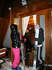 Lesbians at the ski resort