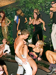 Fucking at a hot sex party