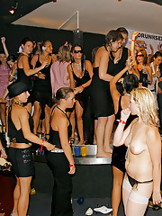 Group of horny girls nailed