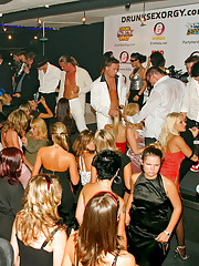 Strippers showing beefstick