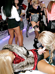 Chicks at a strap-on party