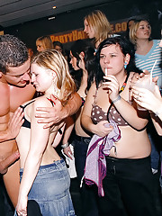 Crazy party hotties showing