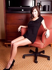 Office sweetheart undresses