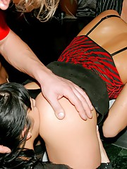Drunken party slut blowjobs