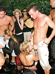 People fuck at a sex party