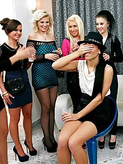 hot girls piss at a party