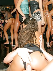 Hot girls nude at a party