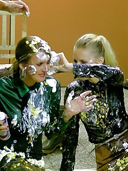Sassy all babe food fight