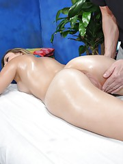 Sexy Brunette gets fucked hard from behind