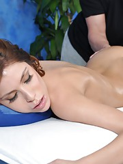 Sexy 18 year old Latina gets fucked hard from behind by her massage therapist