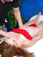 Hot and Horny 18 year old beauty receives a hot massage and a hard fuck!