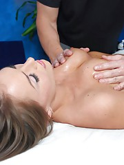 Sexy Tori Black fucked hard and facialed by her massage therapist