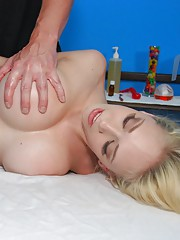 18 year old big titty texas girl gets fucked hard by her massage therapist
