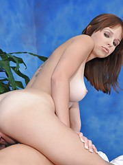 Hayden gives the best sensual massage with a happy ending!