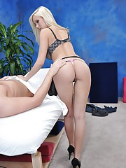 Massage therapist Britney Beth gives a little more than massage