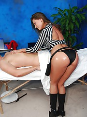 gorgeous 18 year old Tori gives a sexually healing massage!