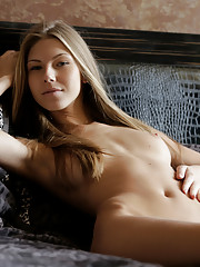 Nubile Ebbi is the image of perfection as she rubs her soft pussy