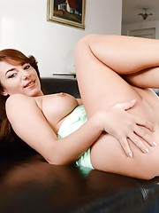 Young slut stripping down
