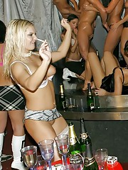 Babes drinking and have sex