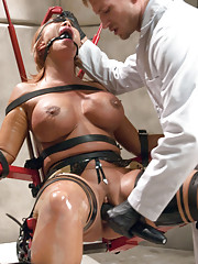 Punished Wife, Sci-fi bondage sex chair and anal fisting with Ava Devine and Bill Bailey