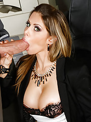 Rumor around the office has it that Billy has a giant cock and Rachel Roxxx would like to find our for herself. So when Billy glides on over to her part of the office she tells him about the little rumor that's been going around. Of course, not one t