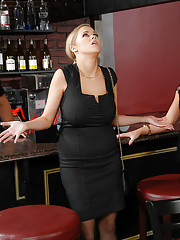 Katie Kox is looking to celebrate all the hard work that she and her team have accomplished at the office. They go out for drinks but the bar is just about to close. Luckily the bartender is nice enough to offer them one drink before he closes. Katie&#039