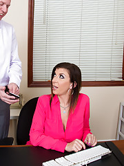 Sara Jay just started her new job at an office. She's glad to be out of her last line of work, but it comes back to haunt her. Her co-worker, Mark, starts chatting with her and let's her know that she found someone online that looks very similar