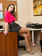 Chanel has Jessy come to her office because he had previously mentioned that he would love to be her assistant. Her current assistant has moved away and if he was still interested after they go over his job requirements, the position will be his. She expl