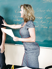 Professor Brandi Love is excited because her student aced his latest exam. She