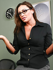 Professor Sky Taylor takes her technology class very seriously, so when her student Will is fucking around making naughty excel sheets of naked ladies, she threatens to fail him. But those pictures are of you, Professor, because you make me want to be a b