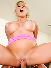 Charisma Cappelli just got back from working out with her boyfriend's son, Johnny. Johnny convinces her that it would be a good idea for them to fuck on the kitchen counter. Charisma is reluctant at first, but Johnny promises not to tell anyone. Char
